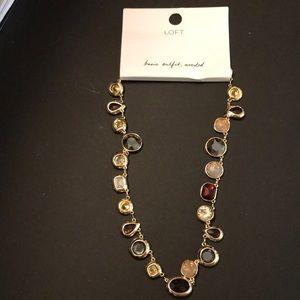 Multicolored Glass Necklace